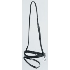 Boring Pole Halter, Double Ring Style Zilco Black