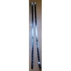 Legstraps Plastic coated webb.American clips.Pair