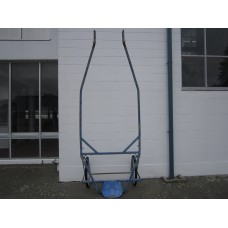 Work cart Solid Steel 32mm Box Section Steel Quick Hitch