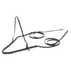 Breastplate Long Trace Standard Zilco Black