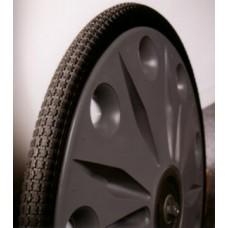 "Wheels Jogger Plastic Challenger 26''x2""x1 3/4"" Black Pr"