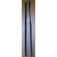Legstraps Leather with American Clips Pair