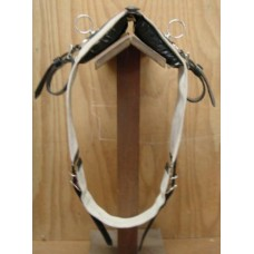 Harness Saddle & Girth Work. Fire Hose (Bare)