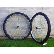 "Wheels Jogger Spoke Complete 26''x2""x1 3/4"" Pair"